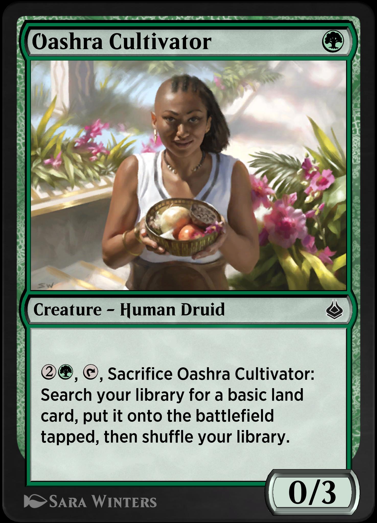 Oashra Cultivator