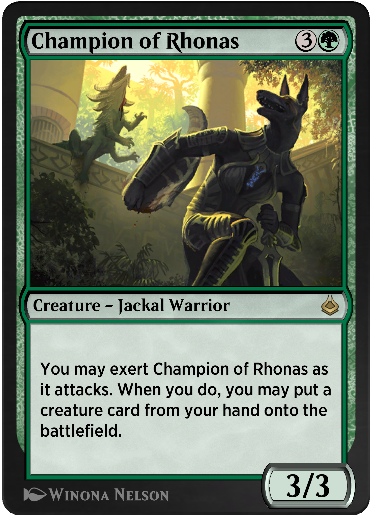 Champion of Rhonas