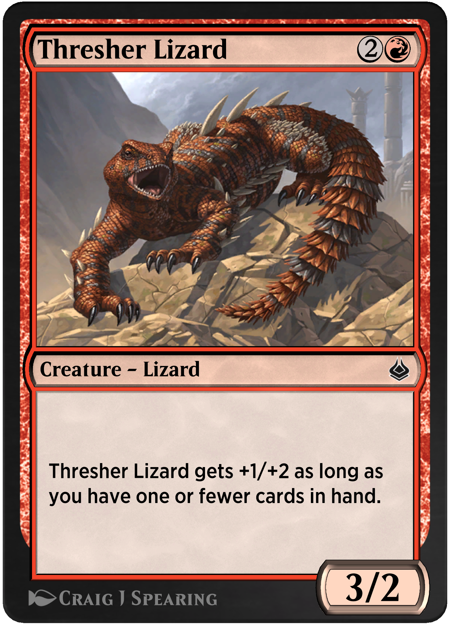 Thresher Lizard