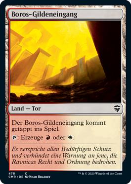 Boros-Gildeneingang
