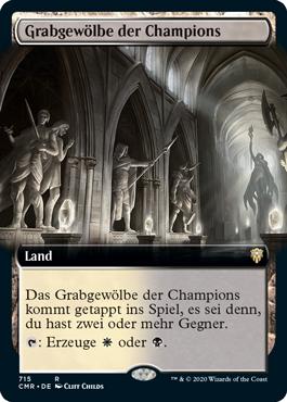 Grabgewölbe der Champions