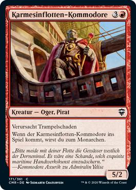 Karmesinflotten-Kommodore
