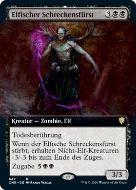 Elfischer Schreckensfürst