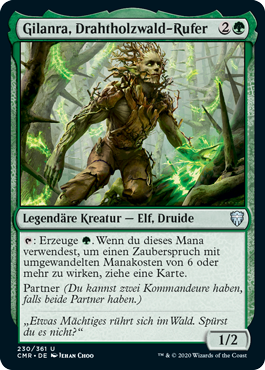 Gilanra, Drahtholzwald-Rufer