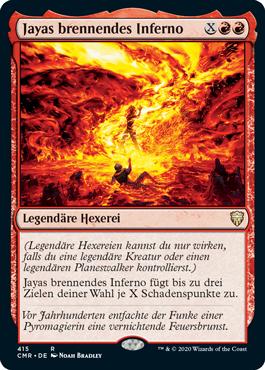 Jayas brennendes Inferno