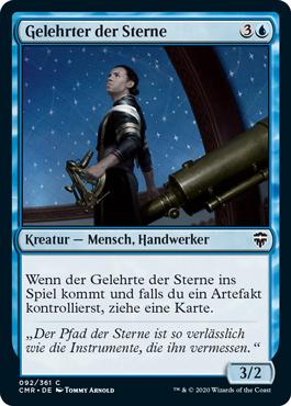 Gelehrter der Sterne