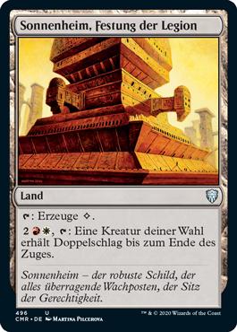 Sonnenheim, Festung der Legion