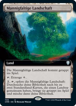 Mannigfaltige Landschaft
