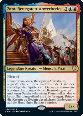 Zara, Renegaten-Anwerberin