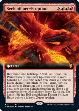 Seelenfeuer-Eruption