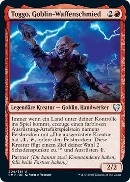 Toggo, Goblin-Waffenschmied