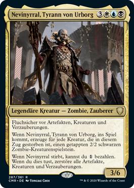 Nevinyrral, Tyrann von Urborg