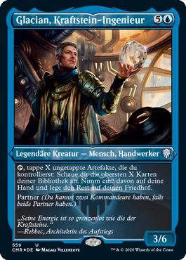 Glacian, Kraftstein-Ingenieur