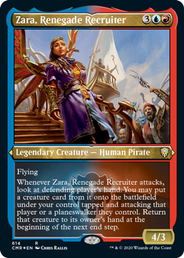 Showcase Zara, Renegade Recruiter