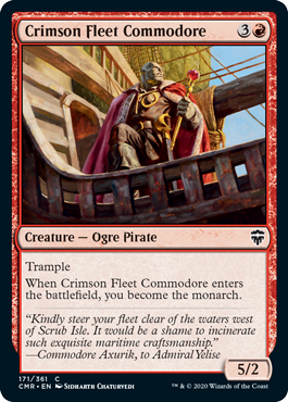 Crimson Fleet Commodore