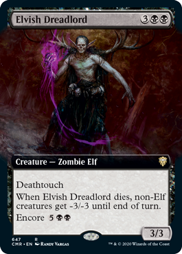 Elvish Dreadlord