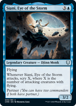 Siani, Eye of the Storm