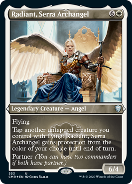 Showcase Radiant, Serra Archangel