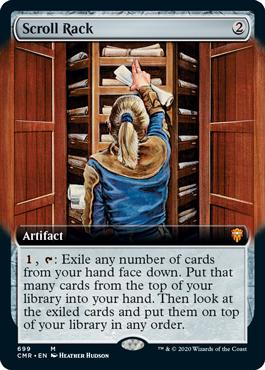 Scroll Rack