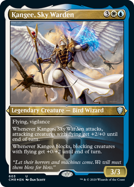 Showcase Kangee, Sky Warden
