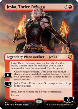 Borderless Jeska, Thrice Reborn