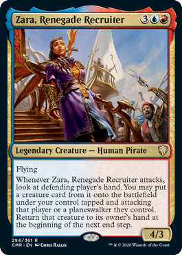 Zara, Renegade Recruiter