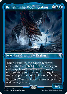 Showcase Brinelin, the Moon Kraken