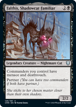 Falthis, Shadowcat Familiar