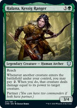 Halana, Kessig Ranger