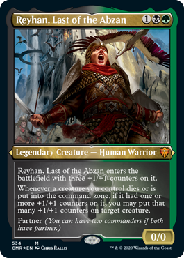 Reyhan, Last of the Abzan