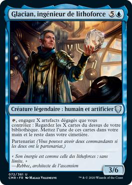 Glacian, ingénieur de lithoforce