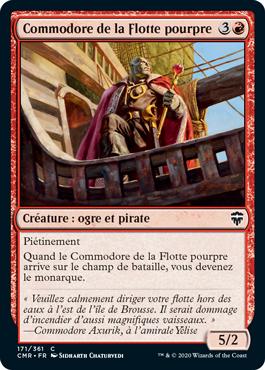 Commodore de la Flotte pourpre