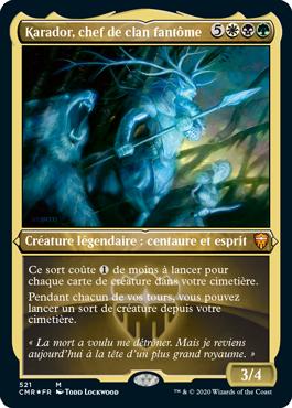 Karador, chef de clan fantôme