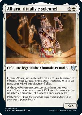 Alharu, ritualiste solennel
