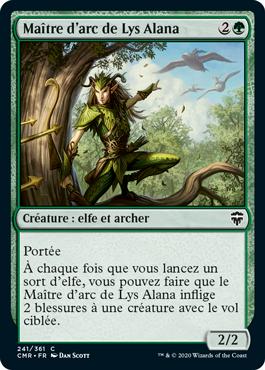 Maître d'arc de Lys Alana