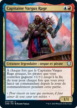 Capitaine Vargus Rage