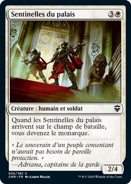 Sentinelles du palais