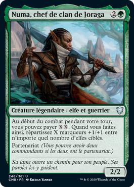 Numa, chef de clan de Joraga
