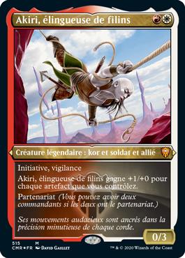 Akiri, élingueuse de filins