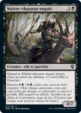 Maître-chasseur exquis