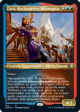 Zara, Reclutatrice Rinnegata