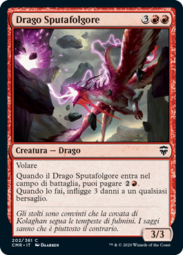 Sparktongue Dragon