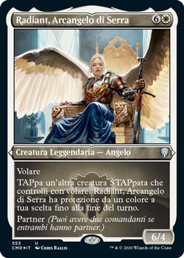 Radiant, Arcangelo di Serra