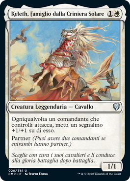 Keleth, Sunmane Familiar