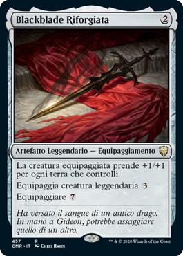 Blackblade Riforgiata