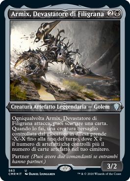 Armix, Devastatore di Filigrana