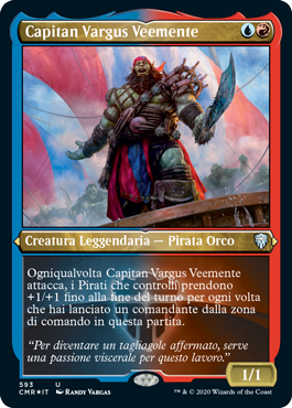 Capitan Vargus Veemente