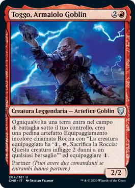 Toggo, Armaiolo Goblin