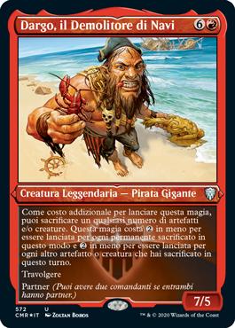 Dargo, il Demolitore di Navi