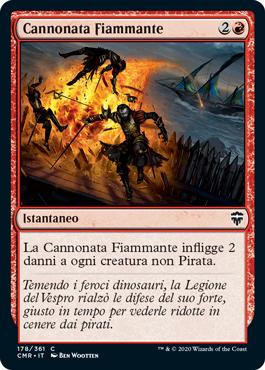 Cannonata Fiammante